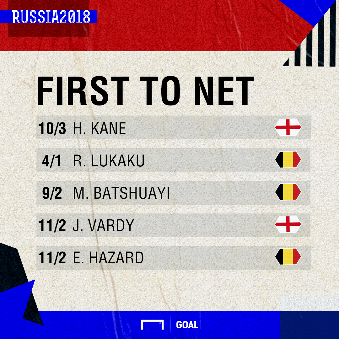 England Belgium scorers graphic