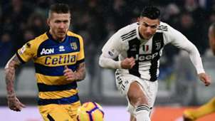 Kucka Cristiano Ronaldo Juventus Parma