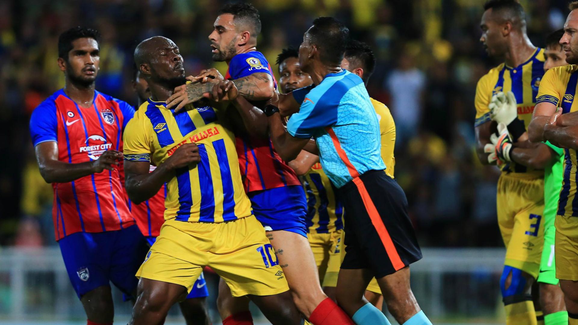 Dickson Nwakaeme, Pahang v Johor Darul Ta'zim, Malaysia Super League, 28 April 2019