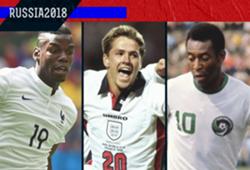 GFX ID - Pemain Muda Terbaik Piala Dunia Dari Masa Ke Masa (1958-2014)