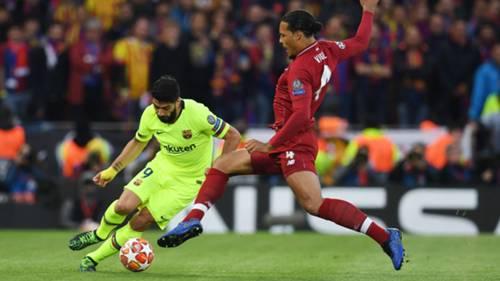 Suarez Van Dijk FC Liverpool FC Barcelona Champions League 07052019