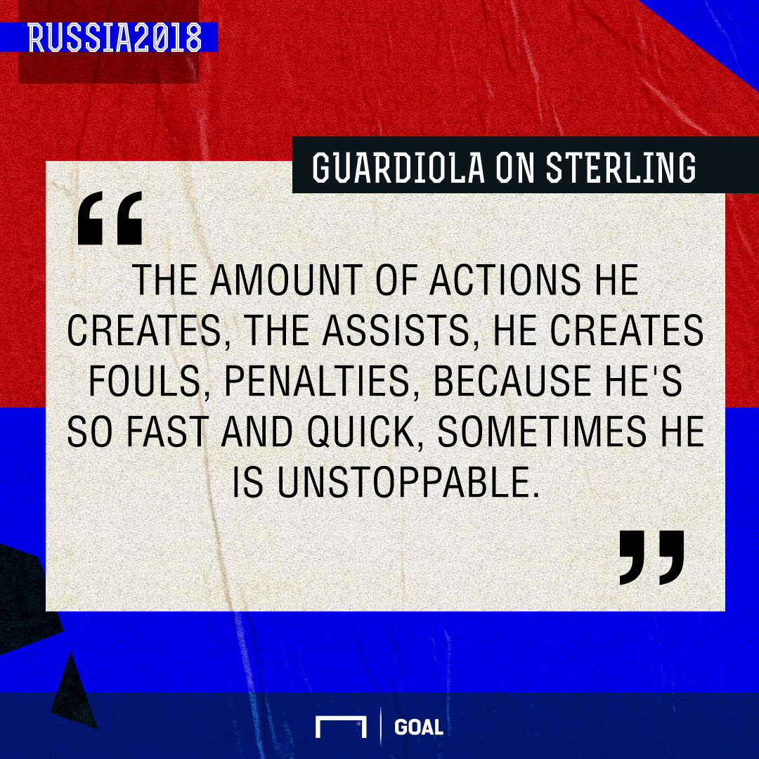 Guardiola on Sterling GFX