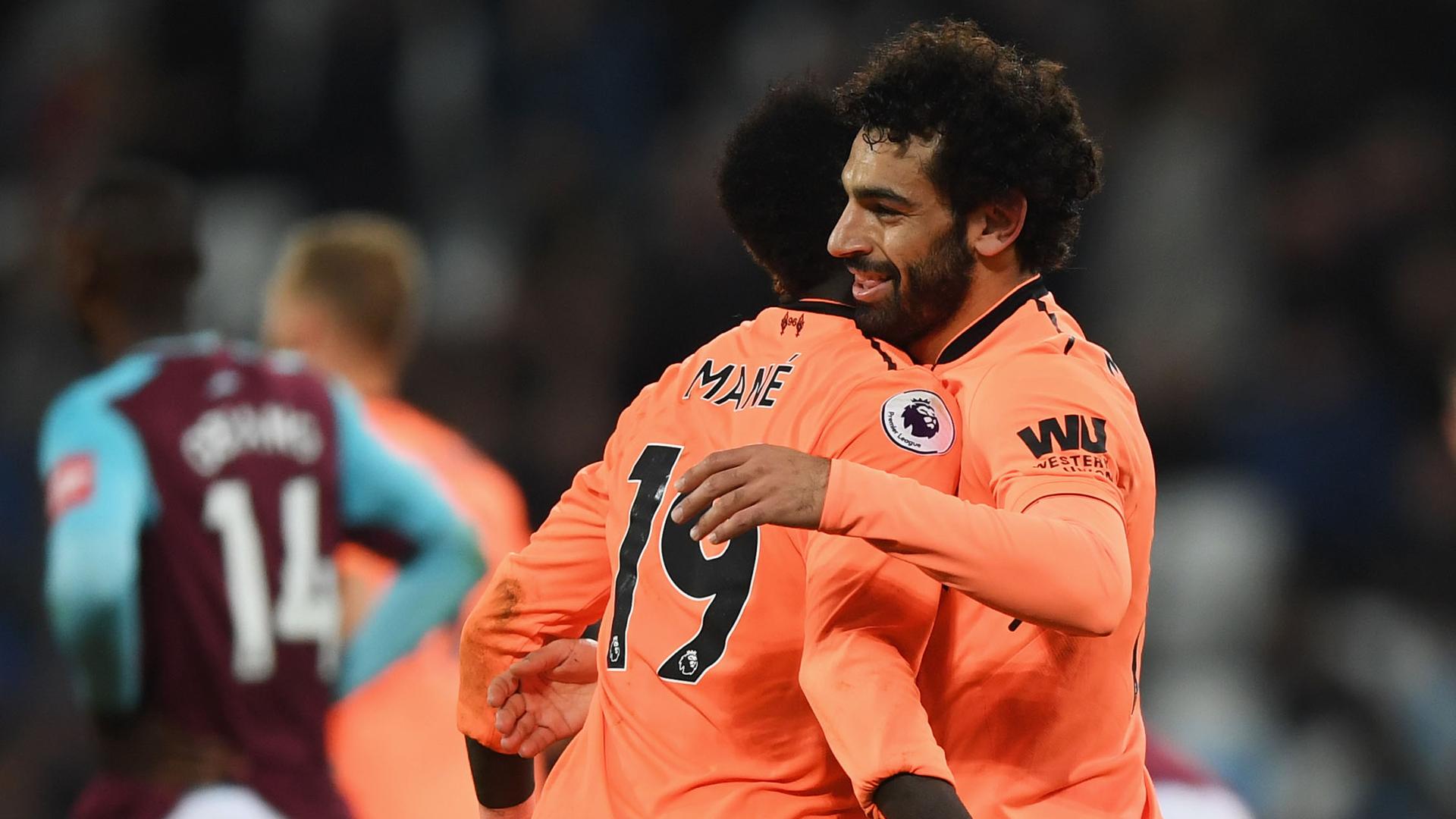 Salah Mane Liverpool 2017-18