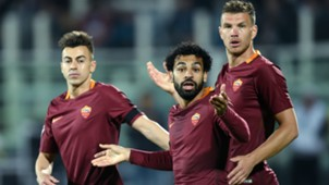 El Shaarawy Salah Dzeko Roma Serie A