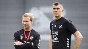 Rick Kruys, Marinus Dijkhuizen, FC Utrecht 09042018