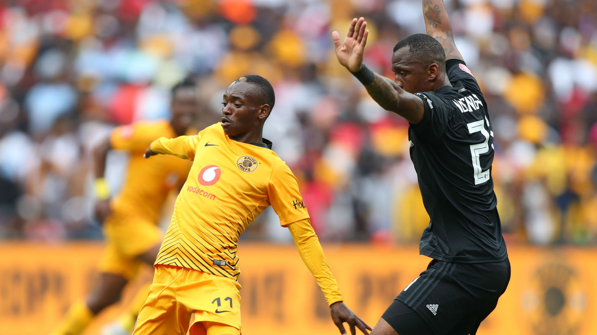 Khama Billiat, Kaizer Chiefs & Alfred Ndengane, Orlando Pirates, February 2019