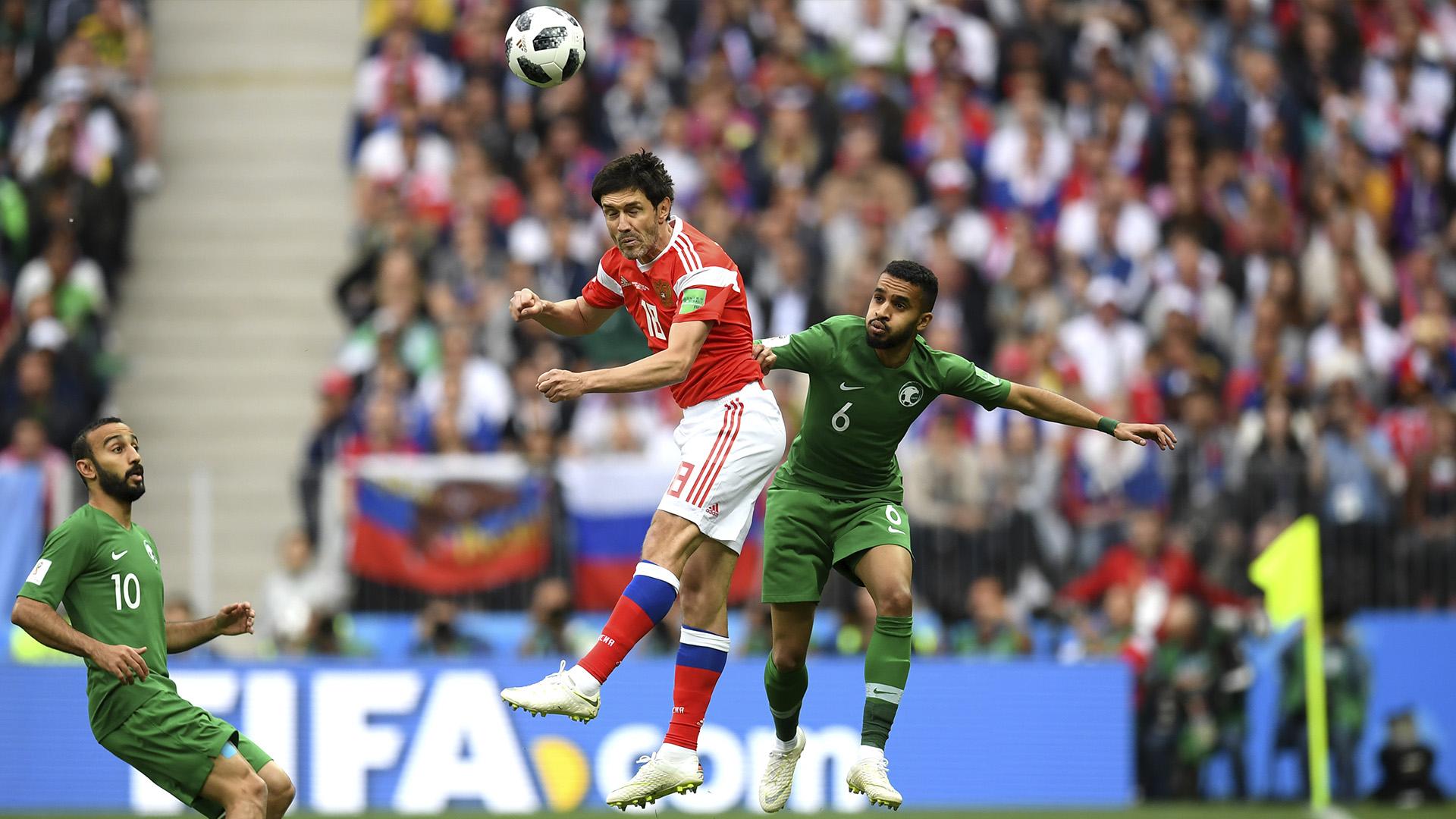 Rússia x Arábia Saudita copa 2018 14 06 18