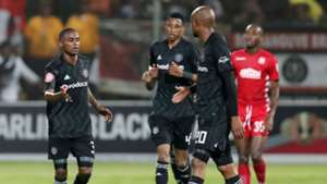 Thembinkosi Lorch, Vincent Pule & Xola Mlambo, Orlando Pirates, January 2019