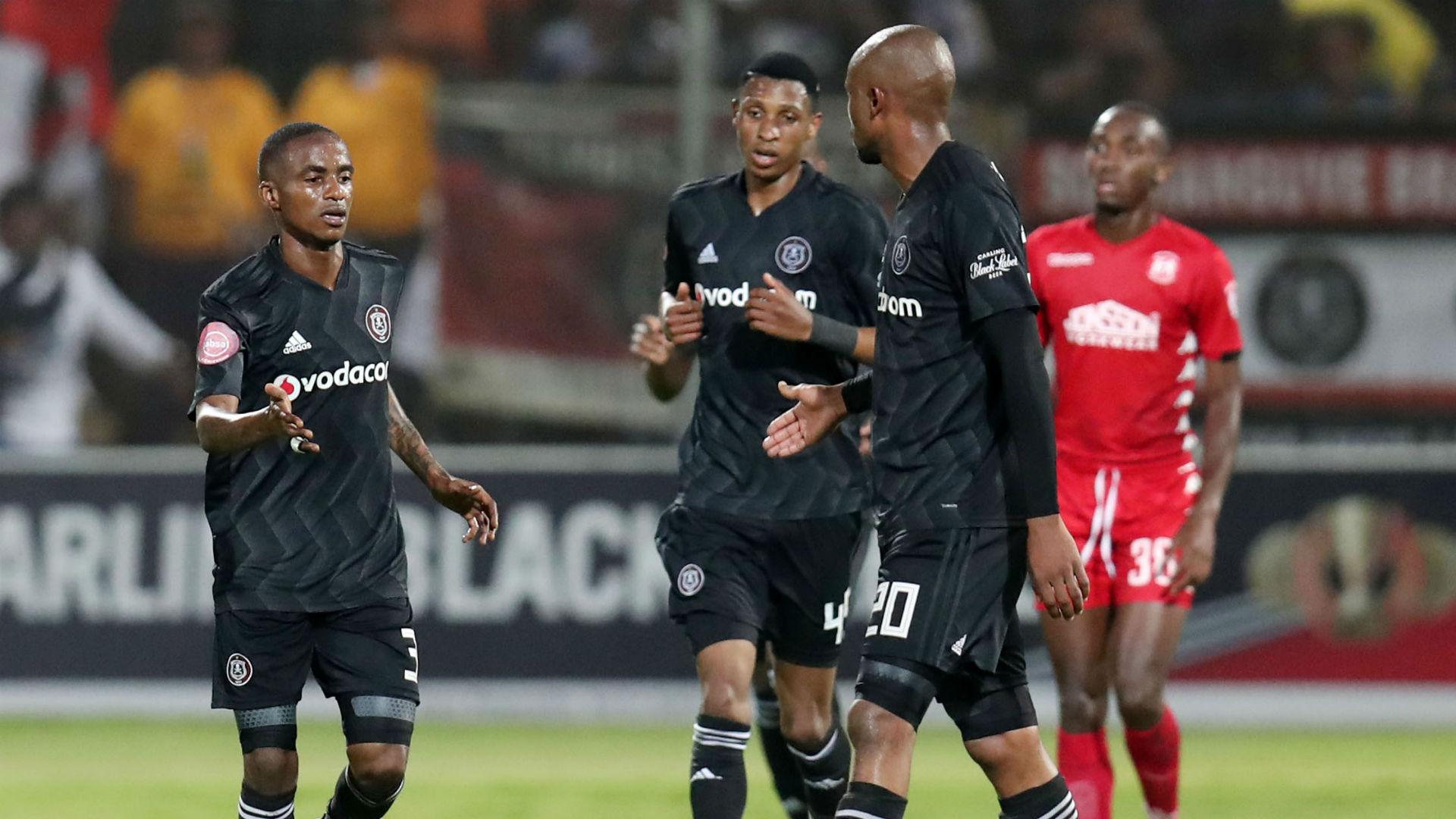 Thembinkosi Lorch, Vincent Pule & Xola Mlambo, Orlando Pirates, January 2019