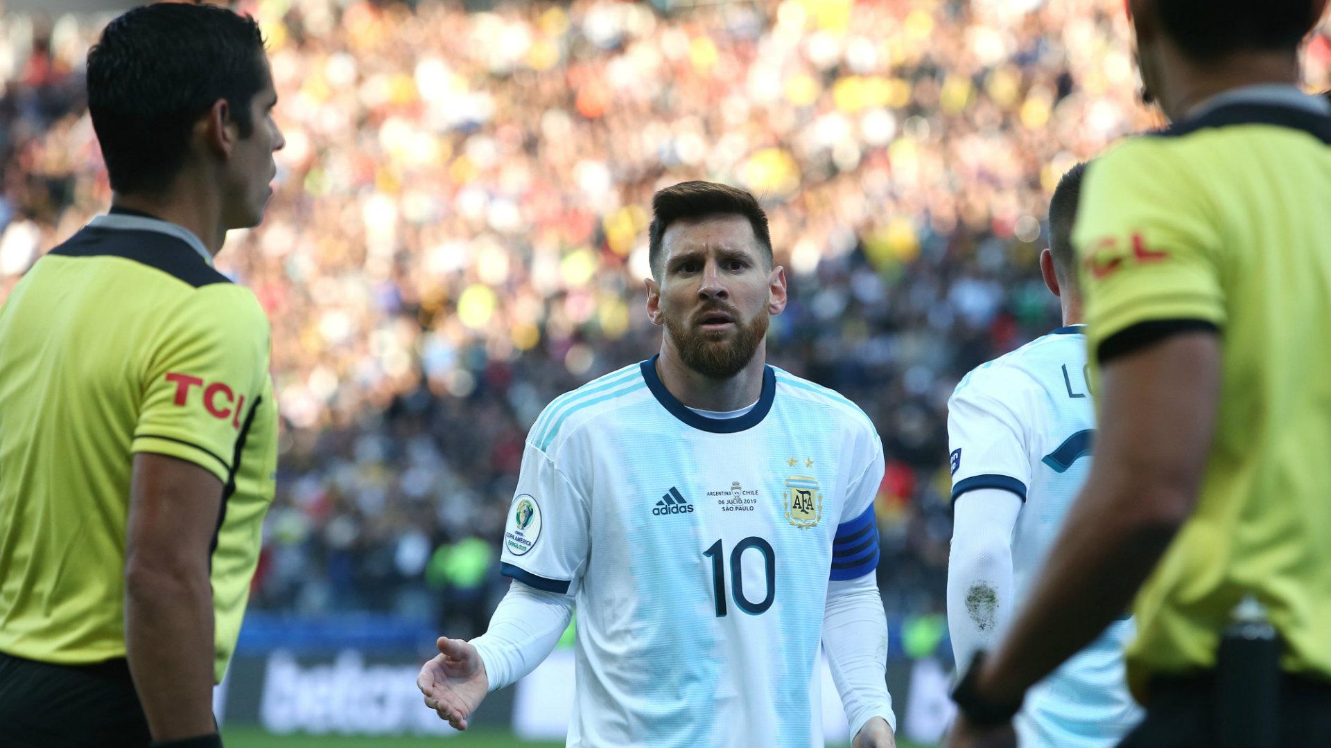 Lionel Messi Argentina vs Chile Copa America 2019