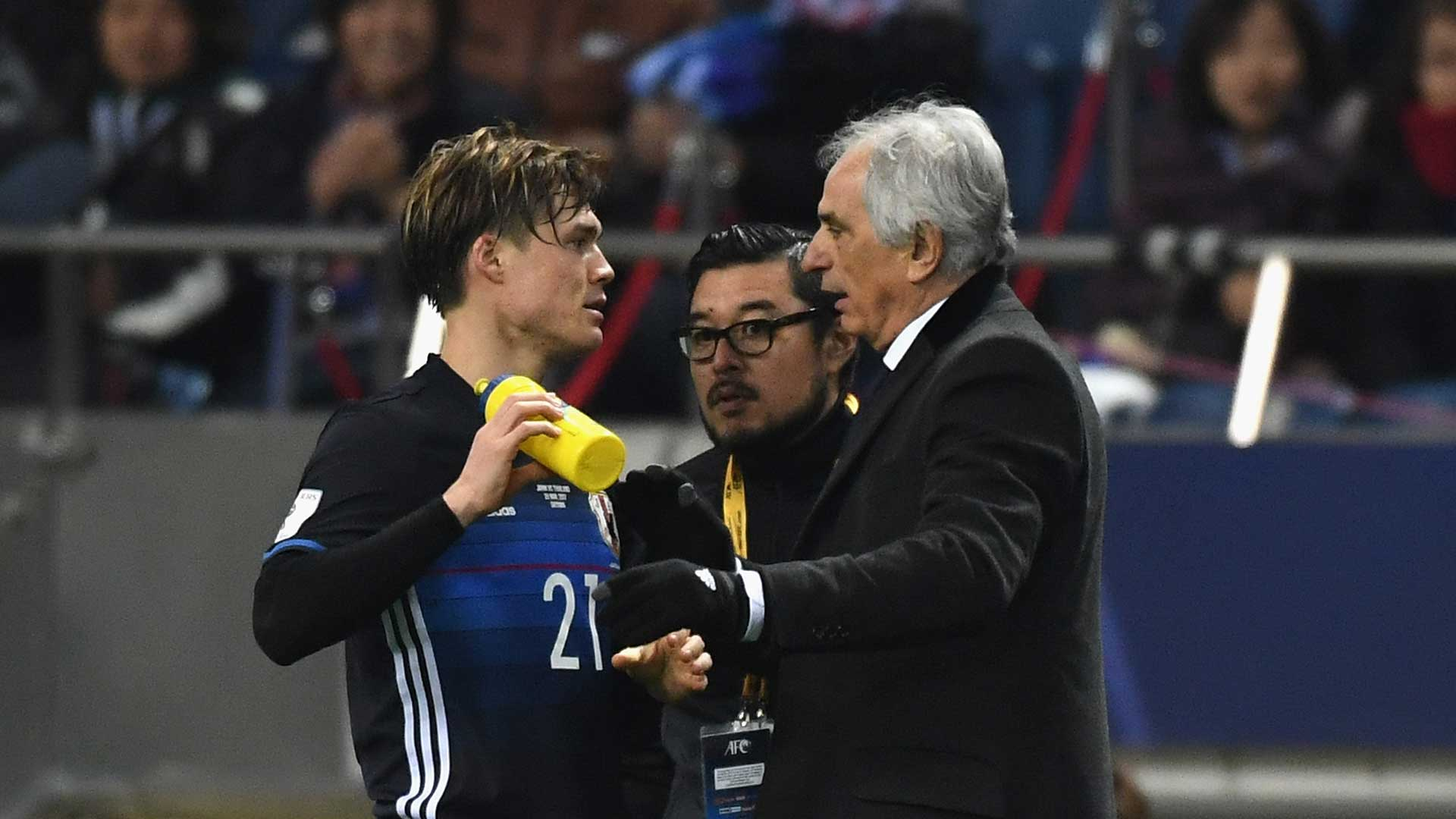 Head coach Vahid Halilhodzic of Japan