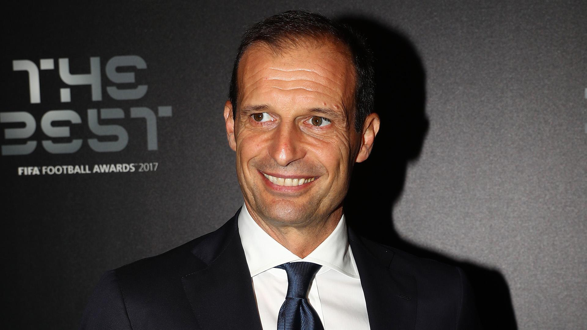 Juventus coach Massimiliano Allegri