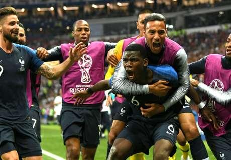 ►Os gols de França 4 x 2 Croácia