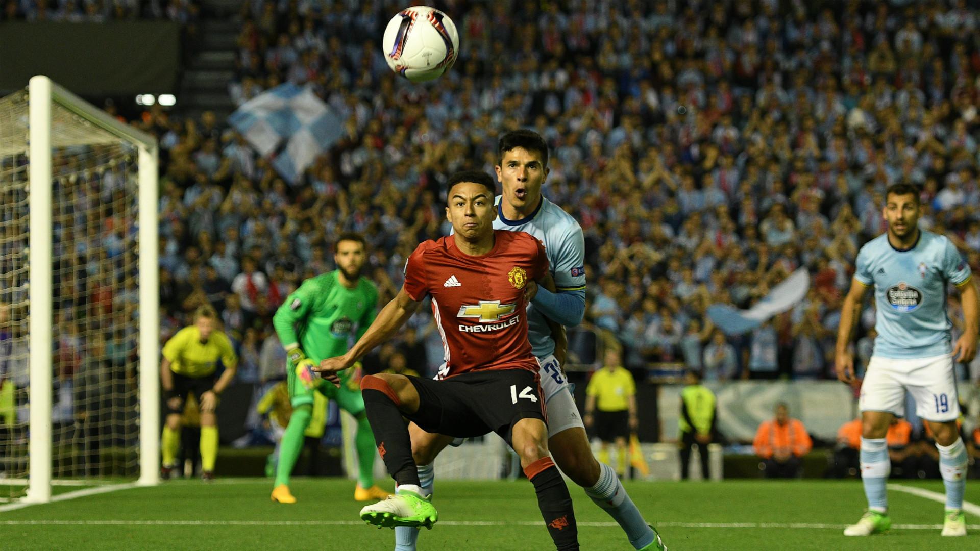 Jese Lingard Manchester United Europa League