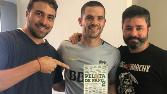 Fernando Gago Pelota de Papel Libro