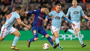 Lionel Messi Barcelona Celta Copa del Rey