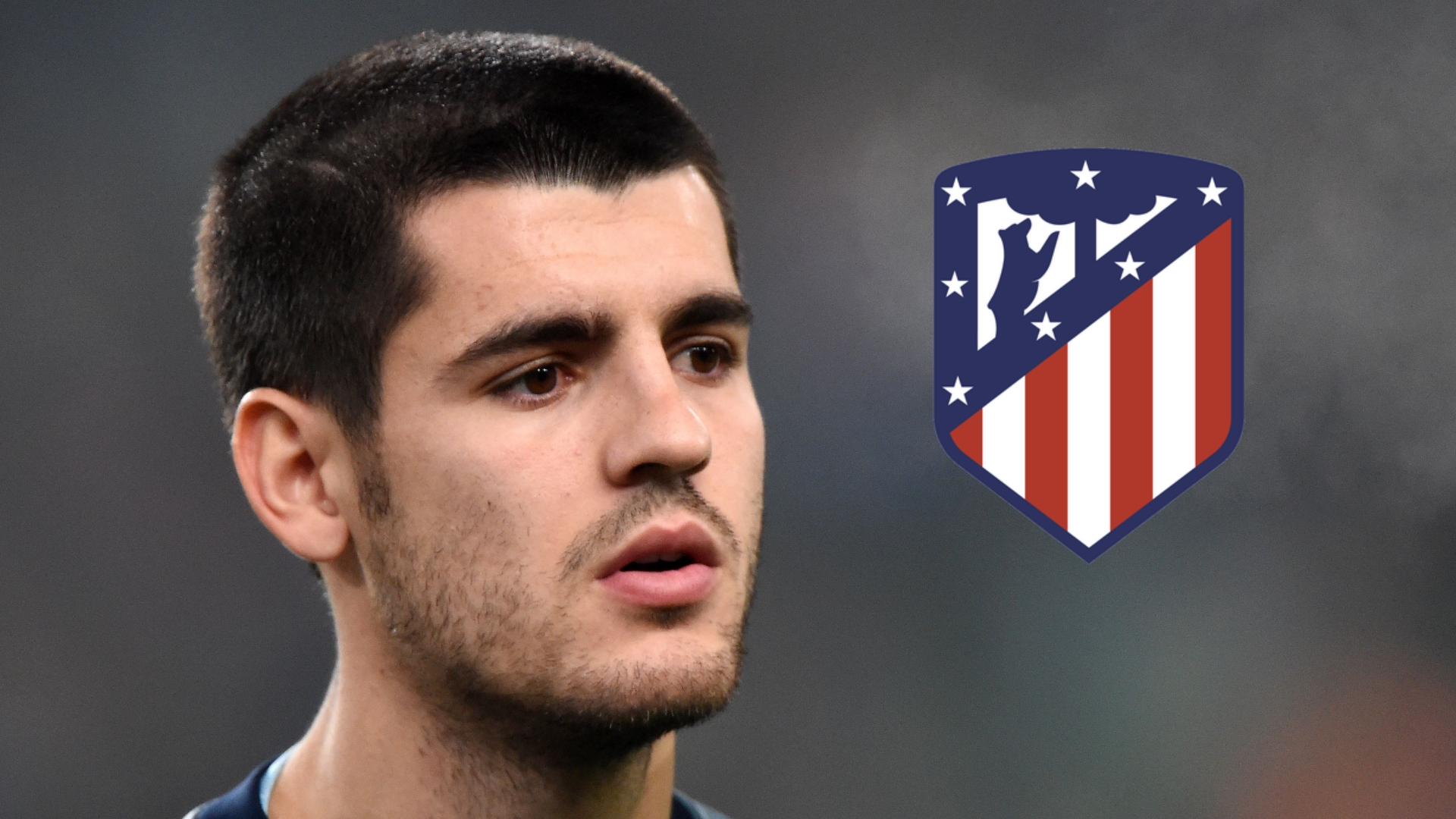 This is how Diego Simeone reacted to Alvaro Morata rumours