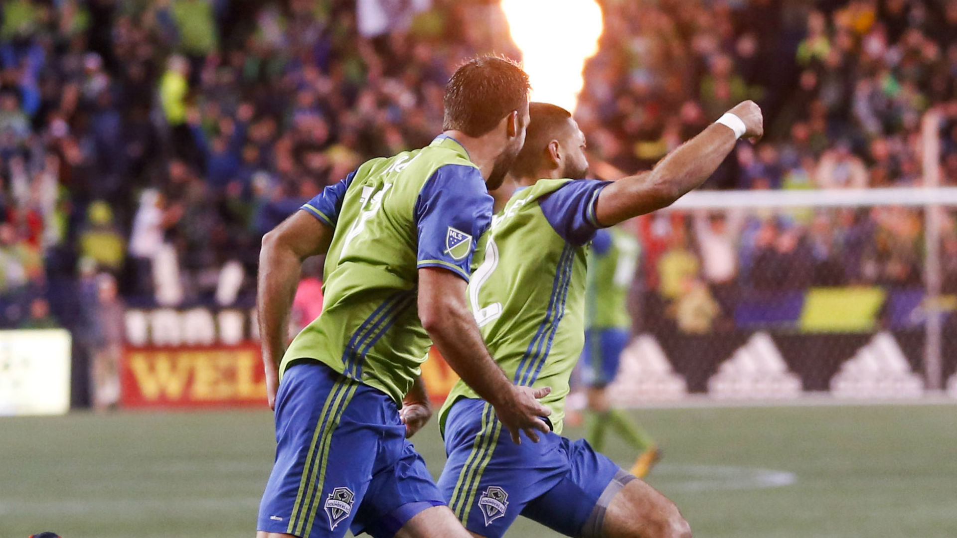 Clint Dempsey WIll Bruin Seattle Sounders MLS Playoffs