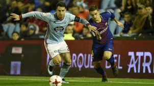 Denis Suarez Hugo Mallo Barcelona Celta Vigo
