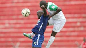 Dennis Mukaisi and Joash Onyango of Gor Mahia
