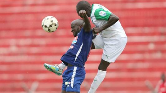 Dennis Mukaisi and Joash Onyango of Gor Mahia