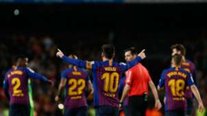 Lionel Messi Barcelona Levante LaLiga 27042019