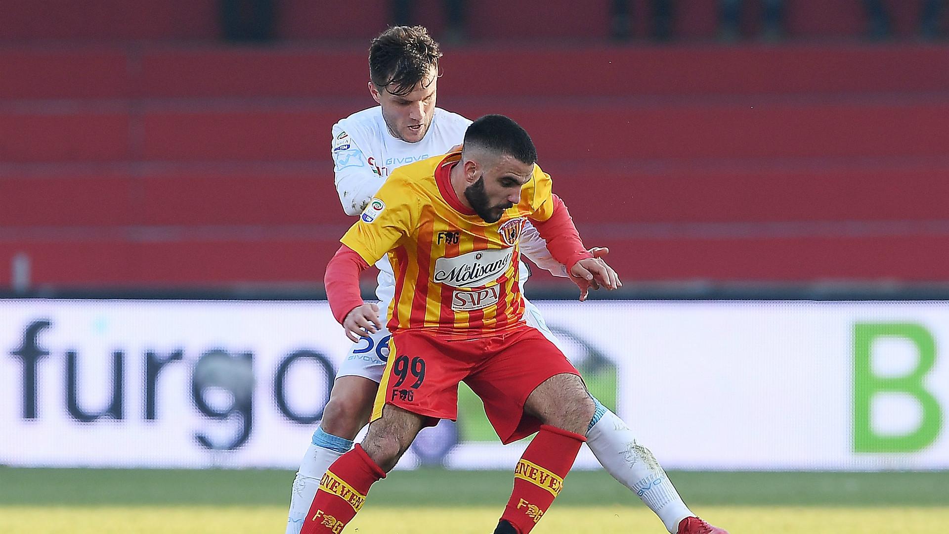 Enrico Brignola Perparim Hetemaj Benevento Chievo Serie A