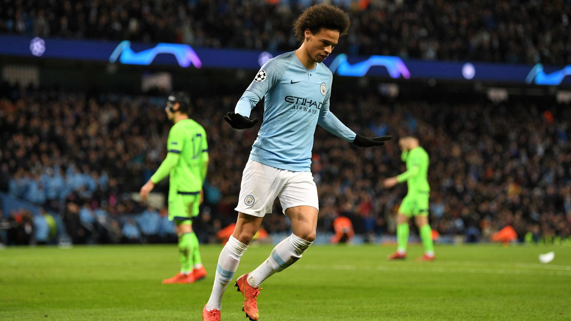 Leroy Sane Manchester City Schalke 04 Champions League 12032019