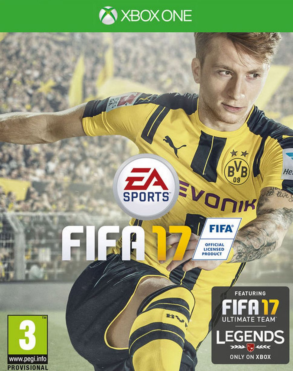 FIFA video game covers