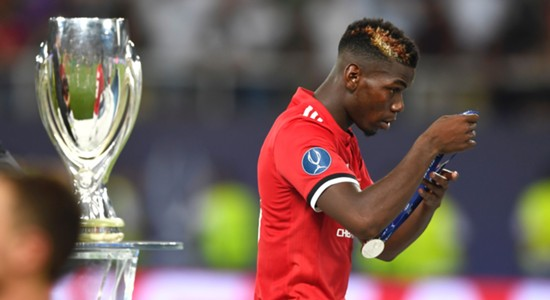 Paul Pogba Real Madrid Manchester United UEFA Super Cup