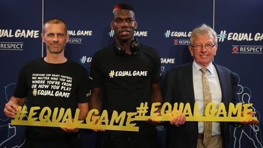 Ceferin Pogba Equal kampány