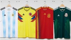 Camisetas Mundial Rusia 2018