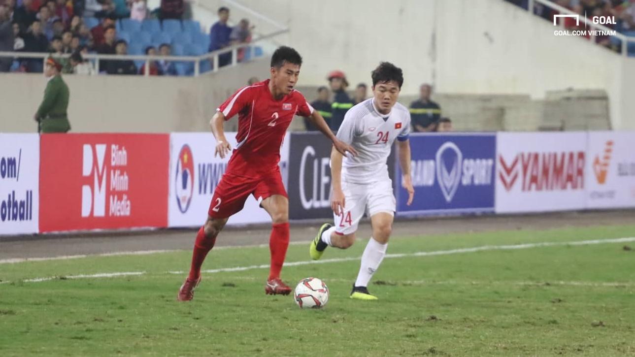 Việt Nam vs CHDCND Triều Tiên