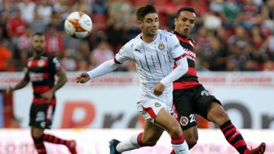 Xolos Chivas Isaac Brizuela