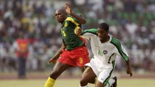 Pierre Wome of Cameroon, Jay-Jay Okocha of Nigeria