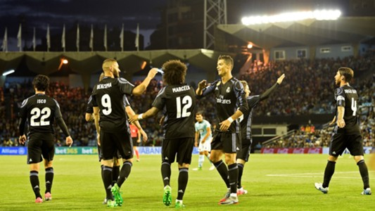 Real Madrid Celta LaLiga 17052017