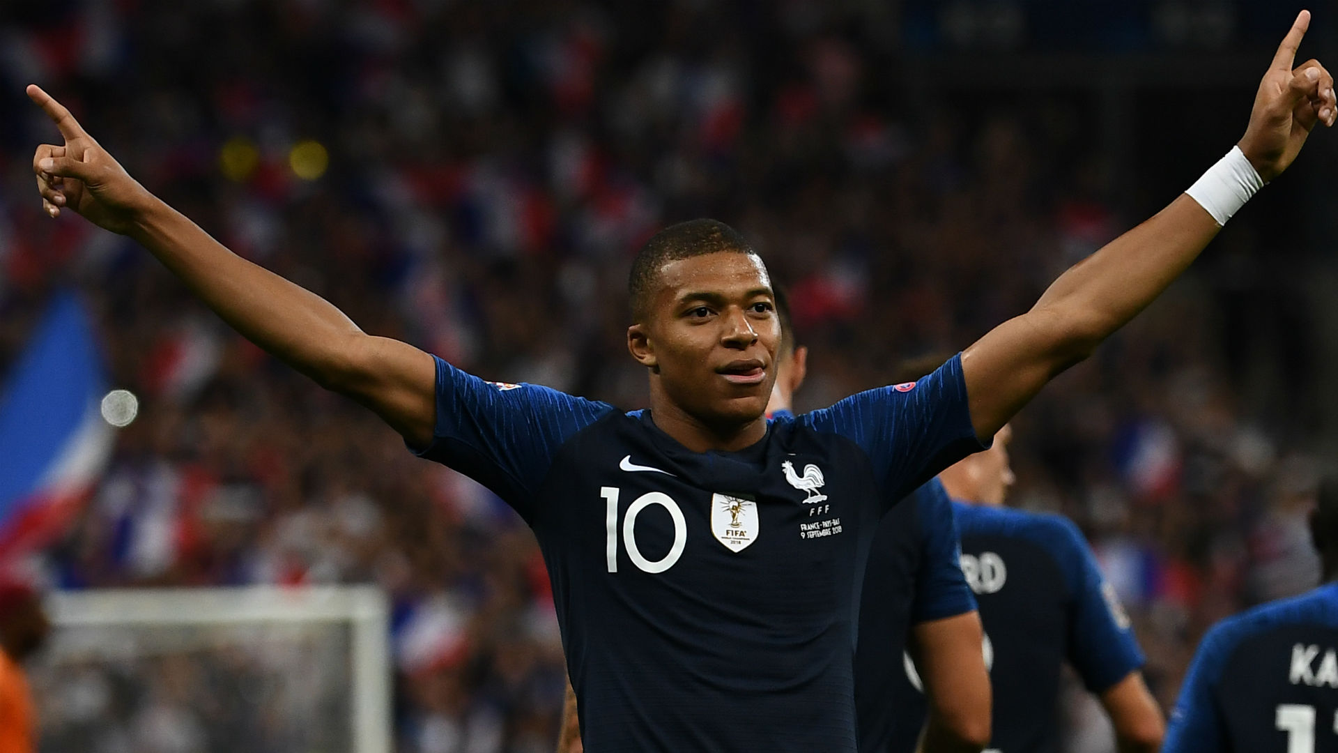 Kylian Mbappe France Netherlands Nations League 09092018