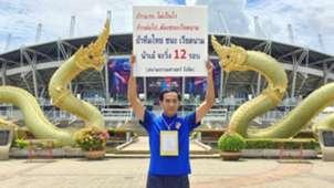 Chairat Klummai Thailand's supporter