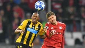 Thomas Müller FC Bayern München AEK Champions League 07112018
