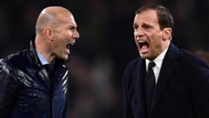 Zinedine Zidane Massimiliano Allegri
