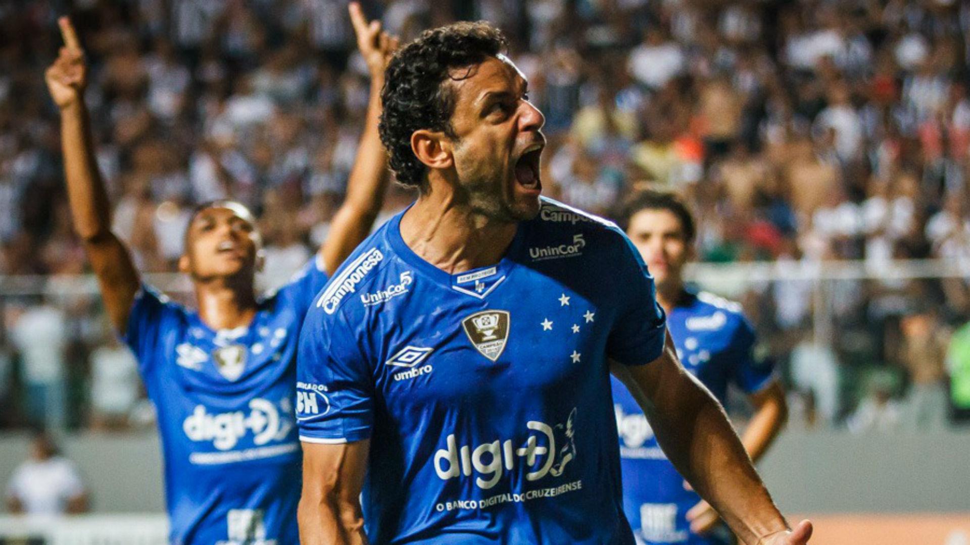 Fred  Cruzeiro Atlético final Mineiro 20 04 2019