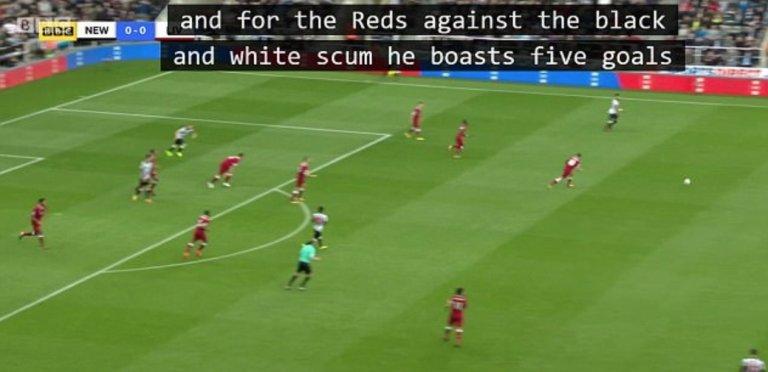 Newcastle subtitle error