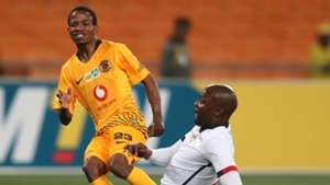 Joseph Molangoane, Kaizer Chiefs & Rooi Mahamutsa, Free State Stars, August 2018
