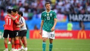 Thomas Müller 2018 Germany South Korea