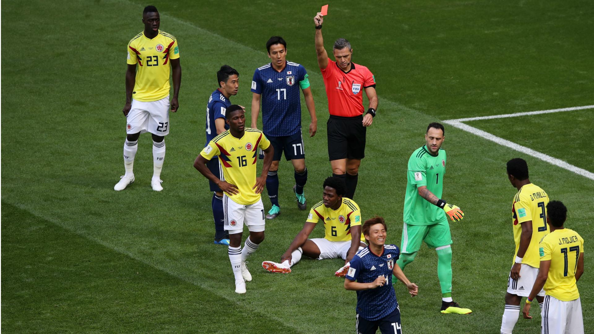 كارلوس سانشيز كولومبيا اليابان كأس العالم 2018
