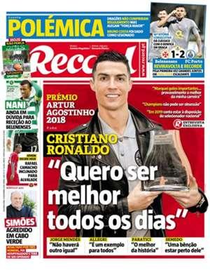 Record Cristiano Ronaldo