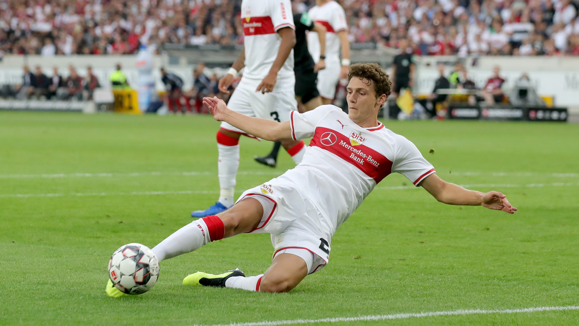 Benjamin Pavard VfB Stuttgart Bundesliga 0818