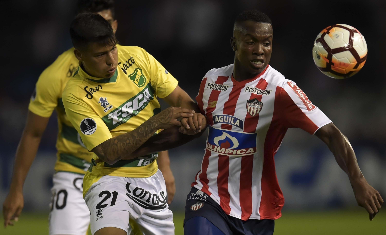 Junior vs Defensa y Justicia Copa Sudamericana 2018