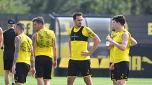 GER ONLY Mats Hummels Borussia Dortmund BVB Training
