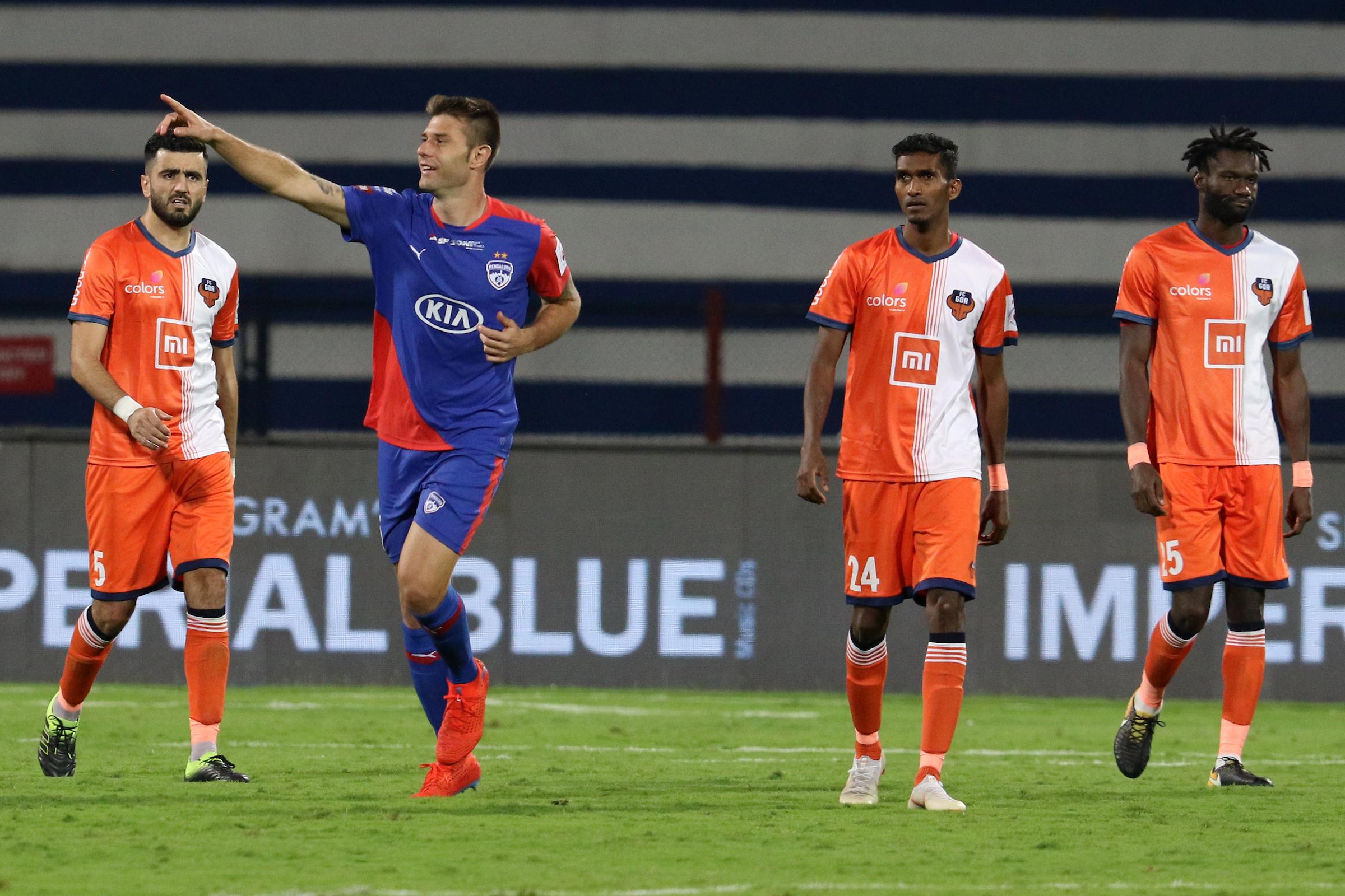 Bengaluru v Goa, Indian Super League
